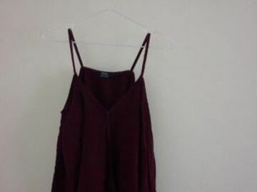 Selling without online payment: Maroon Top :)