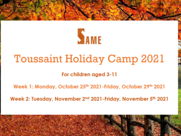 Offre: English-speaking Halloween Holiday Camps during half-term !