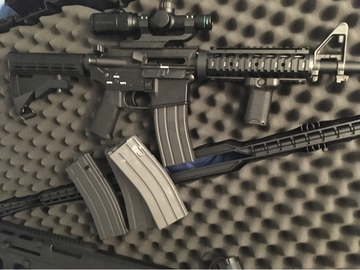 Selling: Tokyo Marui M4 M.W.S GBBR With Accessories