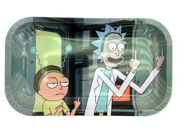 Post Now: RICK N MORTY #6 MEDIUM Rolling Tray
