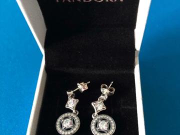 Venta: Pendientes Colgantes Seducción Vintage Pandora