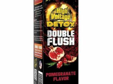 Post Now: High Voltage Double Flush Detox Drink - 16OZ - Pomegranate