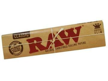 Post Now: Raw Unrefined Classic King Size Slim Cigarette Rolling Papers