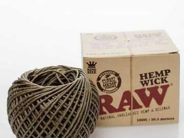 Post Now: Raw Hemp Wick