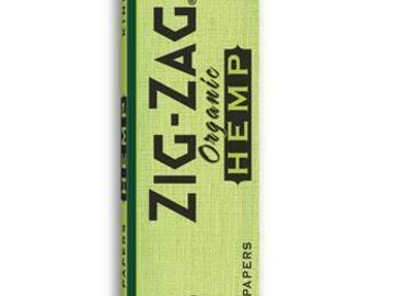 Post Now: Zig Zag Hemp King Slim Papers Pack of 2