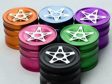 Post Now: Genie 5 spoke rims aluminium grinder