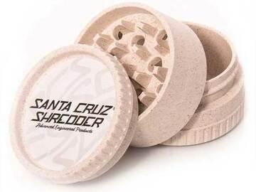 Post Now: SANTA CRUZ SHREDDER HEMP GRINDER - 3 PIECE - WHITE