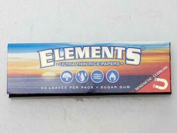 Post Now: Elements Rice smoking Papers