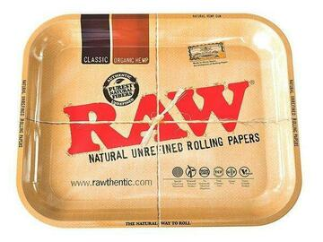 Post Now: LARGE RAW ROLLING TRAY