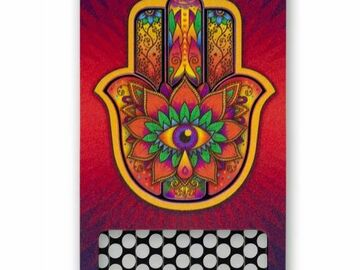 Post Now: V Syndicate® - Hamsa Red Nonstick Grinder Card
