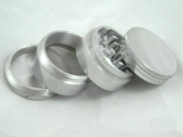 """Post Now: Small 1 1/2"""" Aluminum Grinder"""