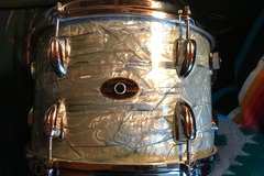 Selling with online payment: Slingerland Lt Blue Pearl 8x12 Tom