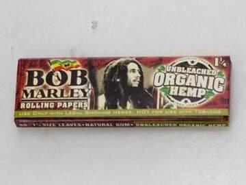 Post Now: Bob Marley Organic Hemp paper-2 Packs