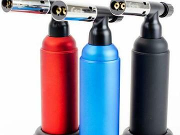 Post Now: Genie Adjustable Dual Jet flame Torch Lighter BS850