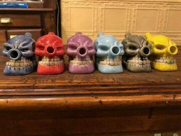 Post Now: Skull Cone Bubbler