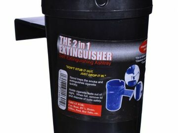 Post Now: 2 in 1 Extinguisher - Car Ashtray - Assorted Colors