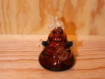 Post Now: Honey Comb Necklace Pendant Glass Pipe