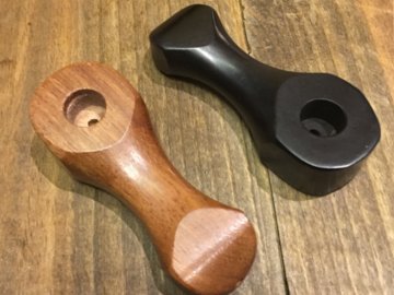 Post Now: Beveled Wooden Pipe