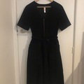 Selling: Black cord dress (L)