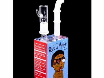 """Post Now: The Pirate - 8"""" Rick & Morty Juice Box Dab Rig"""