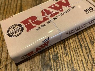 Post Now: RAW Pre-Rolled Tips 100ct Tin