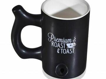 Post Now: Smoke Espresso - 2 In 1 Roast and Toast Coffee Mug Plus Smoking H