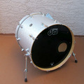 Selling with online payment: DW Performance Series Bass Drum Silver Sparkle 22x18