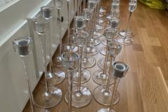 Ilmoitus: Ikean kynttilänjalat 29 kpl
