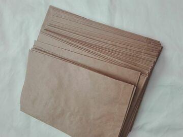 Ilmoitus: paperipussit karkkibuffaan