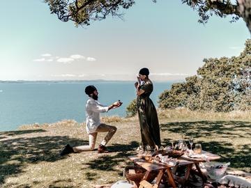 Proposals: Musick Point Surprise Proposal Photoshoot