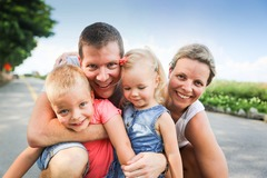 Fixed Price Packages: Family Photography (Outdoor, studio or home-visit)