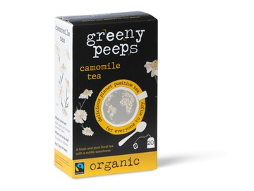 Delivery: Camomile Tea - Organic - 20 unbleached teabags