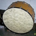 """Selling with online payment: 1970's Rogers 40"""" Concert Bass Drum"""