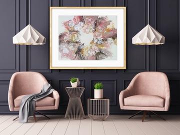 Sell Artworks: Diamond Floral