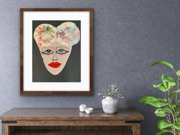 Sell Artworks: Big eye Matilda