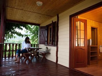 Accommodation: la Noguera Bungalow