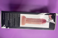 Selling with online payment: XR Brands Loadz 10 inch Realistic Dual Density Squirting Dildo