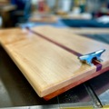 Selling with online payment: Maple and Cedar Charcuterie Board / Serving Tray