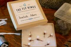 Selling with online payment: Parachute Adams Dry Flies (6 per unit)