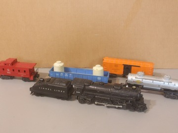 Selling with online payment: Lionel O  Train set engine 637 2-6-4 Running Lot TK-8