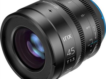 Vermieten: Irix 45mm Cine T1.5 EF