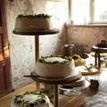 Ilmoitus: Puinen kakkuteline