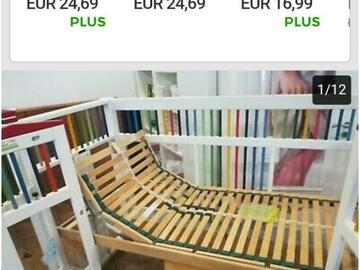 Biete Hilfe: Biete zwei Nagel neue Kinderpflegebetten