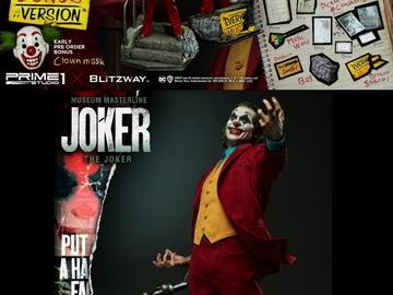 Stores: Prime 1 Studio - 1/3 Statue Joker Movie - The Joker Bonus Version