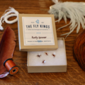Selling with online payment: Rusty Spinner Dry Flies (6 per unit)
