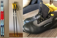 Selling: Cross country skiing material
