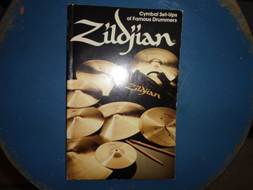 VIP Members' Sales Only: Zildjian cymbal set ups of famous drummers (1980)