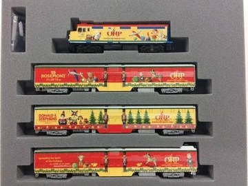 Selling with online payment: KATO N scale OPERATION NORTH POLE CHRISTMAS TRAIN 4-UNIT SET
