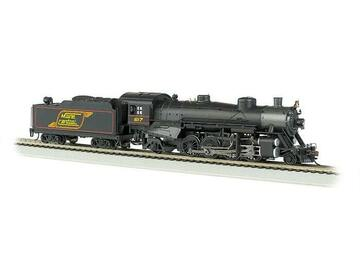 Selling with online payment: BACHMANN #54305 USRA 2-8-2 LIGHT SOUND MAINE CENTRAL
