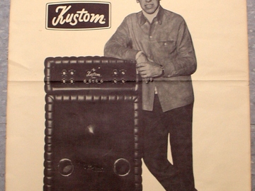 Show Off Your Drums! (no sales): RARE Buddy Rich Poster for ??? KUSTOM AMPS ???